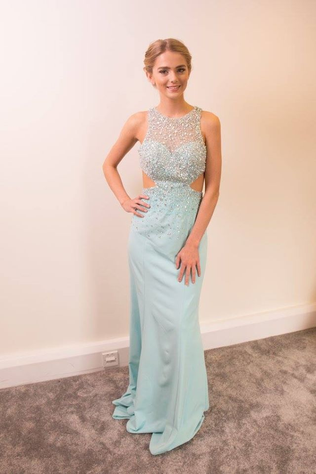 Light Blue Prom Dress 2