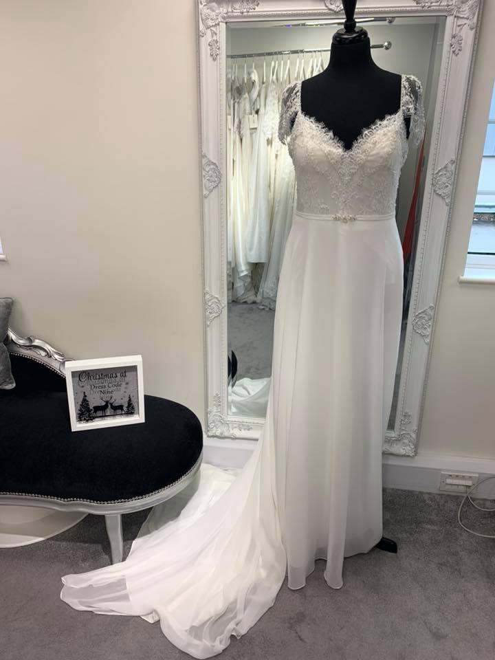 wedding dress at dress code nine