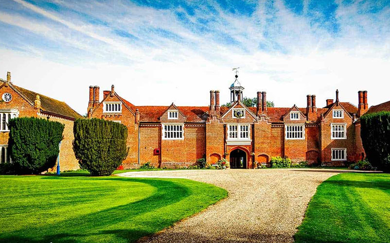 Gosfield Hall Wedding Venue in Gosfield