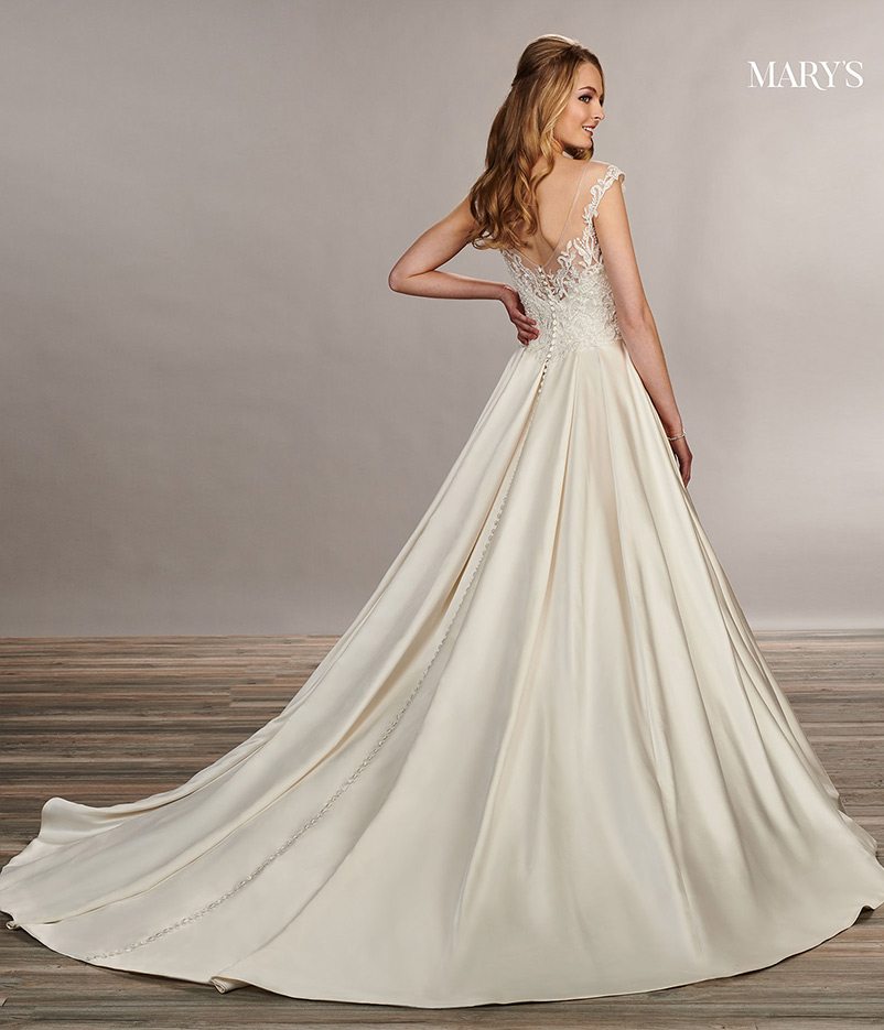 a line wedding dress sweetheart neckline