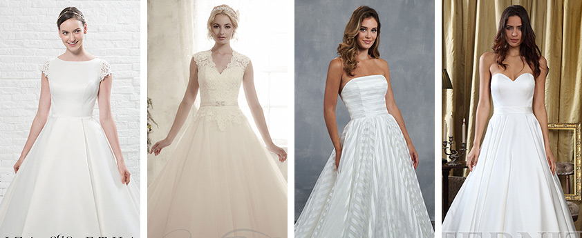 a line wedding dresses uk