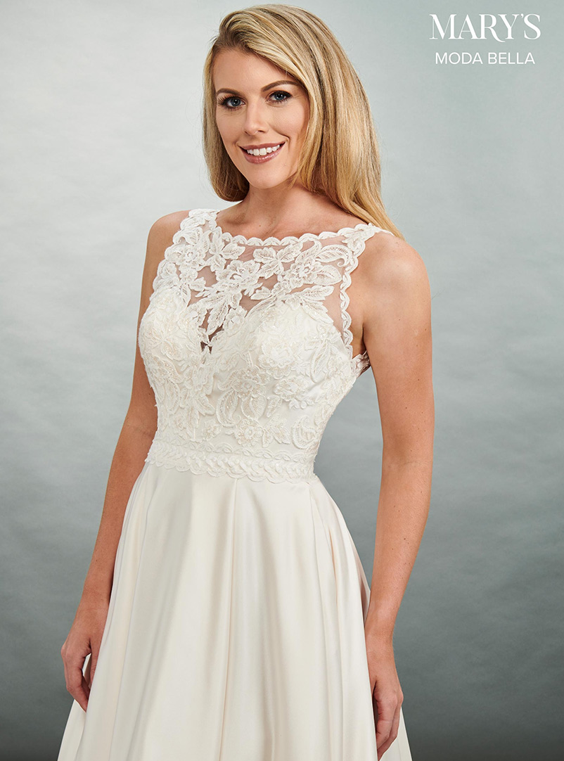 sweetheart neckline a line wedding dress