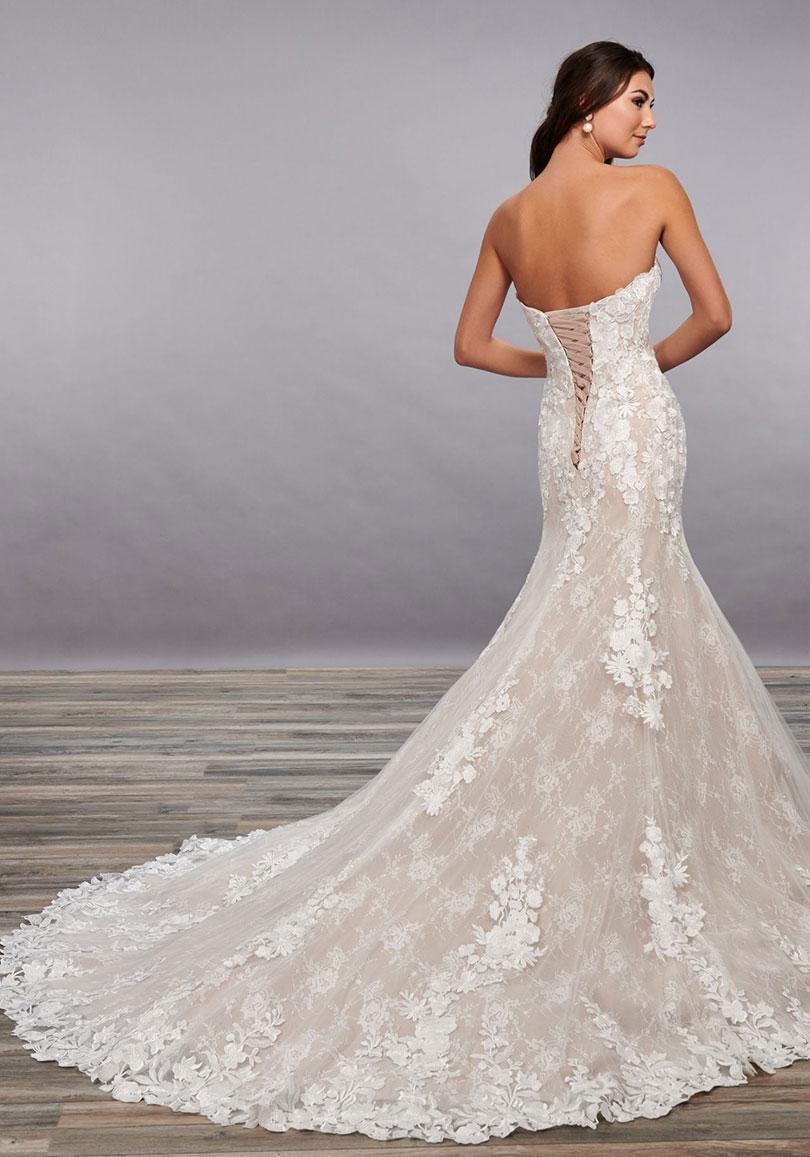 Cotton lace wedding dress