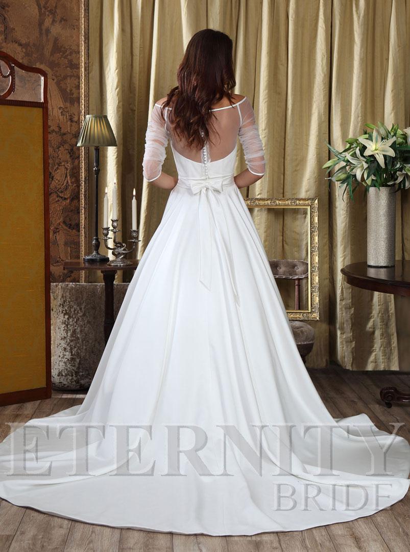a line ball gown wedding dress