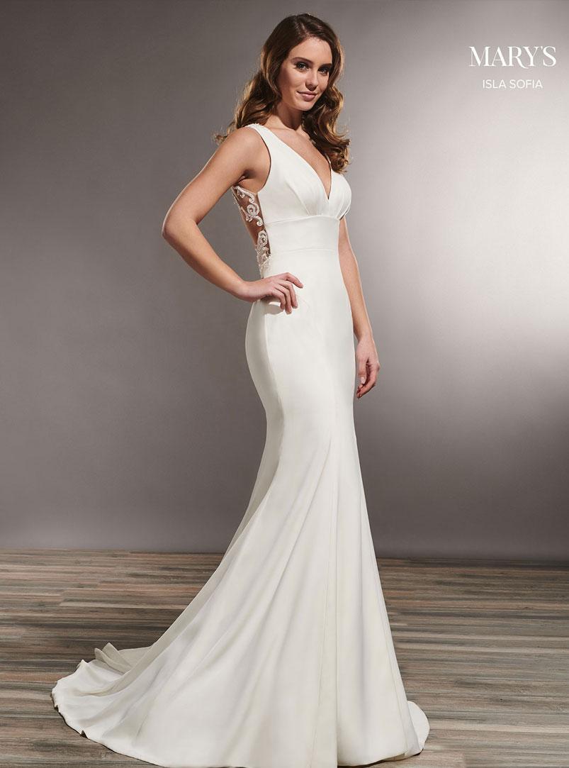 crepe mermaid wedding dress