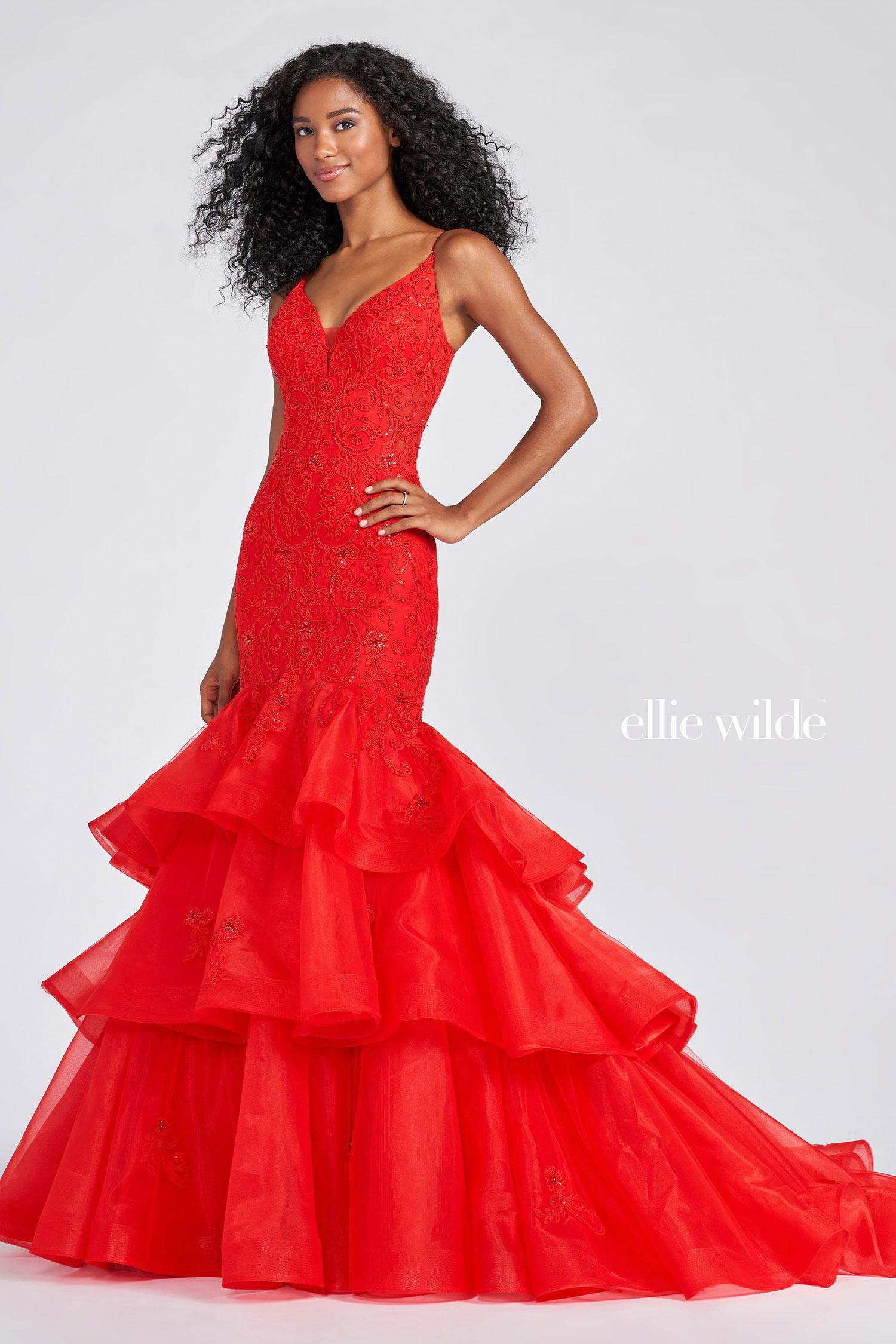 Ellie Wilde EW122085 red f